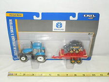 New Holland TG215 With Spreader & L170 Skidsteer Set      1/64th Scale