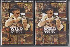 20 Wild Western Movies Vols 1 & 2 New Sealed John Wayne Roy Rogers Lee Van Cleef
