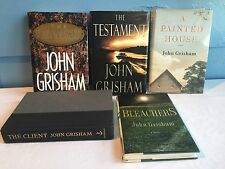 5 Hard Back John Grisham The Rainmaker Testament Client Bleachers Painted House