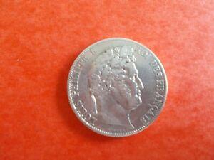 PIECE FRANCE EN ARGENT. 5 FRANCS .LOUIS PHILIPPE..ANNEE 1834