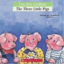 Bilingual Tales: Los tres cerditos / The Three Little Pigs (Spanish Edition) by