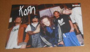 Korn Poster 2-Sided Original 16.5x11.5