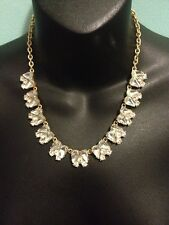 New J.Crew Crystal Angel Wings Adjustable Necklace.  Retails for 49.50