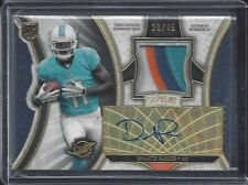 DEVANTE PARKER 2015 TOPPS SUPREME MULTI COLOR ROOKIE PATCH AUTO RC #D /45