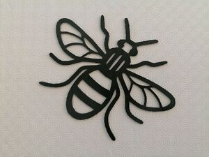 Manchester bee wall art decoration Worker Bee Modern Art choice of colours LARGE