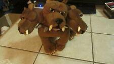 "GUND Harry Potter Plush - Fluffy 3 Headed Dog - Stuffed Standing Animal 10"" Tall"