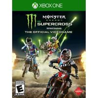 Monster Energy Supercross: The Official Videogame (Xbox One XB1 2018) Brand New
