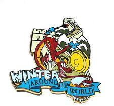 RARE LE 250 Disney Pin✿Mulan Sidekick Mushu Dragon Great Wall China Winter World