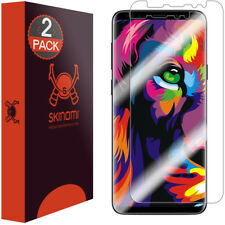 Skinomi TechSkin Clear Screen Protector for Galaxy S9 Plus (2-Pack Max Coverage)