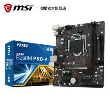 MSI motherboard B250M PRO-V LGA1151 original desktop motherboard DDR4