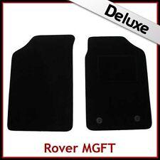 ROVER MG TF 2002 2003 2004 2005 su misura LUSSO 1300g AUTO TAPPETINI NERO