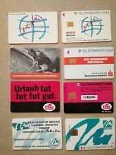 #573 TK Telefonkarten Phonecard Deutschland O Karte 4 Stück Bosch ltur Sparkasse