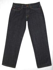 Blac Label Mens BtnFly Slim-Cut Dark Jeans 34x33 New
