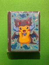 Pokemon Sealed XY Pikachu Mega Charizard Poncho Cosplay Sleeves 64 Count