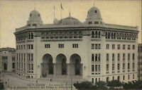 Algier Alger Algerien Afrika Africa Postkarte AK ~1910 Postamt bureau de poste