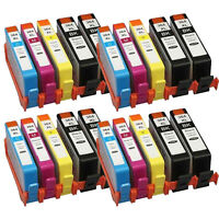 New Compatible  HP 364 Combo Pack Set 20 Ink B/C/M/Y for HP Photosmart 5520