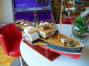 R/C Model Boat. Large R/C Model Paddle Tug GLASGOW.