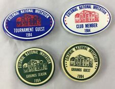 Orig Colonial Invitation Fort Worth Golf Tournament Pin 1984 Badge Collection