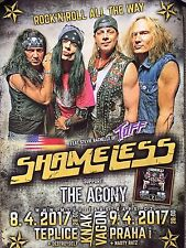 Shameless wall poster Tuff Stevie Rachelle Glam Hairbands 80s Hollywood