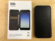 iPhone 7 Plus Sena Ultra Thin Wallet Book Echtleder Hülle