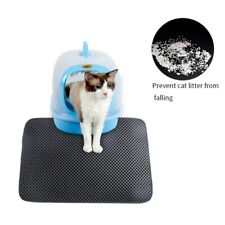 Premium Paws Pets Cat Litter Boxes Mat Honeycomb Double Layer Waterproof Pet Pad