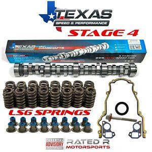 Texas Speed TSP Stage 4 LS Truck Cam Kit & Gasket Kit GM 4.8L 5.3L 6.0L 6.2L
