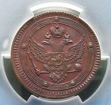 Russland 5 Kopeken 1802 EM in vz PCGS grade AU 53 nswleipzig