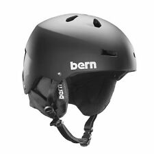 Bern Snowboard Helmet - Macon EPS 8Tracks Audio - Size Small Medium - 2015