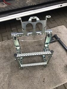 Folding Steps For A Mercedes Tractor Unit Over The Fuel Tank With Bracket