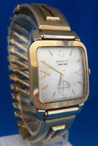 Mens Vintage Benrus 17 Jewels Watch.FREE 3 DAY PRIORITY SHIPPING.