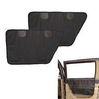 2pcs Pet Dog Car Door Cover Protector Waterproof Travel Window Seat Truck Guard