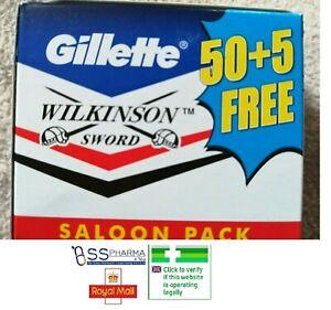 Gillette Wilkinson Sword Double Edge Blades