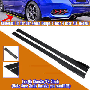 Extensions 2M Seitenschweller Panel Für Honda Civic Accord Coupe Sedan 9TH 10TH