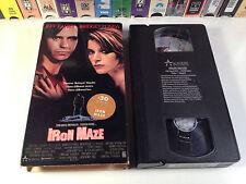 Iron Maze Rare Thriller VHS 1991 OOP HTF Bridget Fonda Jeff Fahey Pennsylvania