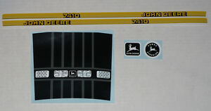 7410 John Deere Toy Pedal Tractor DECAL SET Computer Cut Free Ship