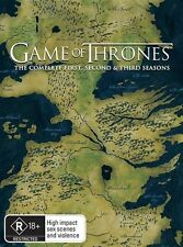 Game Of Thrones : Season 1-3 (DVD, 2014, 15-Disc Set)
