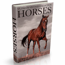 238 Horse Books on DVD Training Shoeing Riding Breeds Horses Saddle Farrier Stud