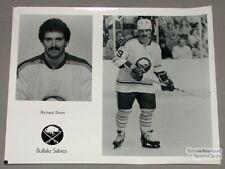 Original Late-70's Richard Dunn Buffalo Sabres Photo