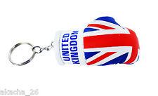 Porte clés cle clefs Drapeau Royaume Uni UK Anglais gant de boxe moto voiture