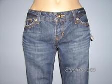 NEW Aeropostale Junior Girls Dark Wash Capri Denim Blue Jeans 5/6