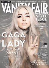 VANITY FAIR,Lady Gaga,Vicomtesse Jacqueline,Steven Rattner,Oleg Cassini,Paz de