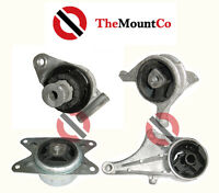 LH/RH Front Rear Manual Engine Mount 4 Pcs For Holden Astra TS 98-04 1.8L Motors