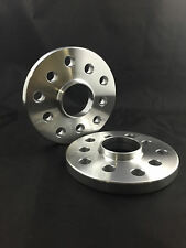 4pc HUB CENTRIC WHEEL SPACERS ADAPTERS ¦ 5X112 ¦ 57.1 CB ¦ 14X1.5 STUDS  ¦ 15MM