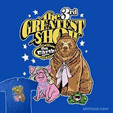 JIM HENSON'S THE MUPPETS Animals 3rd Greatest Show On Earth NEW TEEFURY T-SHIRT!