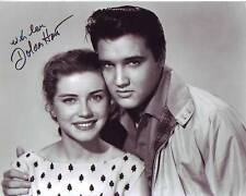 DOLORES HART signed autographed w/ ELVIS PRESLEY KING CREOLE NELLIE photo