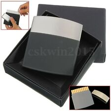 Cigar Case Thin Metal Storage Case Pocket Box Holder For 10 Cigarette