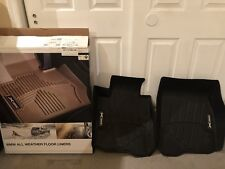 BMW F32 4 Series xDrive Coupe All-Weather Floor Liners Molded Mats Black Front!
