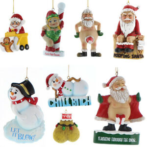 Cheeky Christmas Hanging Tree Decorations | Various Designs