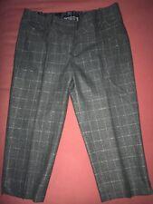 Guess Jeans Gray Plaid Bermuda Pant Shorts Sz 24