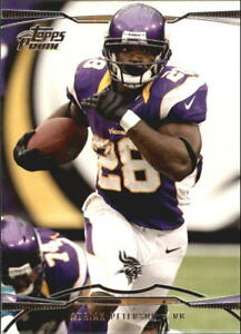 2013 Topps Prime Football Card #25 Adrian Peterson